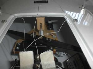 Micro Magic RTR vista del interior