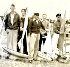 At the 1938 National Championships, Berkeley CA.At the far right, Gus Lassel. Far left, Ted Thorson