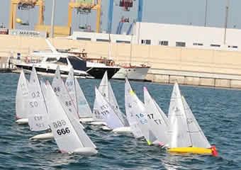 Clase Victoria Radiocontrol  en el puerto de Valencia