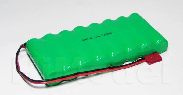 Paquete de baterias NiMh 1200 mAh