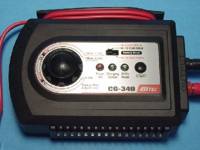 cargador Hitec CG340